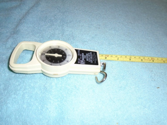 Items similar to mariner fish weighing scale with tape for Fish weight scale