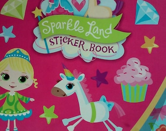 Celebrate It Sticker Book- Sparkle Land
