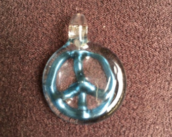 Blue Peace Pendant