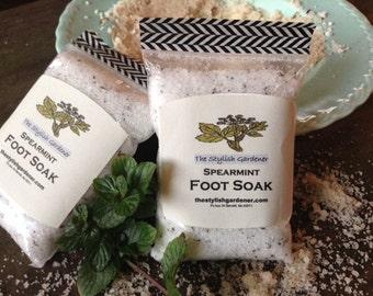 Spearmint Foot Soak