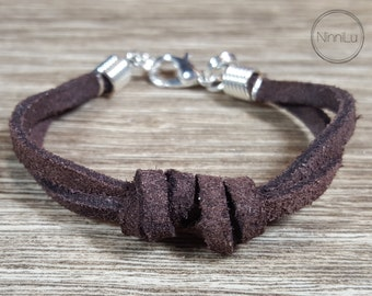 Leather Bracelet,Boys bracelet,  adult bracelet,toddler bracelet,baby bracelet, baby boy bracelet, boy jewelry, girl jewelery  19 COLORS