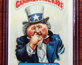 Garbage Pail Kids - Snooty Sam (110a - 1986)