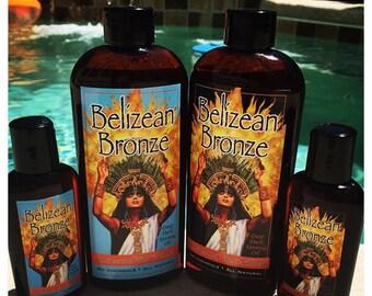 "Belizean Bronze ""Island Papaya"" All Natural Tanning Oil"