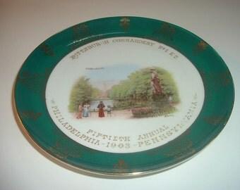 1903 Royal Bavarian Germany Pittsburgh Commandery Plate