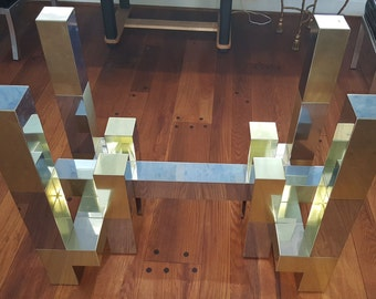 Paul Evans Cityscape Style Dining Table Base
