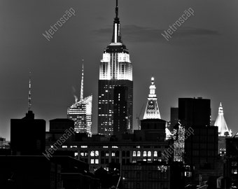 Black and White, New York City Photography, New York City Skline, Fine Art Photography, NYC Pictures, Midtown Manhattan