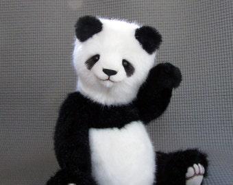 Teddy Bear, Panda, handmade