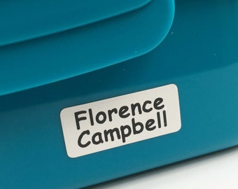 UltraStick Waterproof Printed Name Labels NEW FOR 2016 Great for lunch boxes, water bottles, baby bottles, tins, stationery