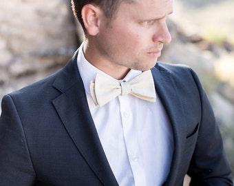 Bow Tie, Yellow Men's Bow Tie