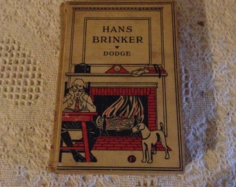 Hans Brinker or The Silver Skates (Mary Maple Dodge) JH SEARS & Co., NY