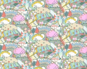 Liberty Tana Lawn Land of Dreams B - The Garden of Dreams collection, buy by the fat quarter/ metre