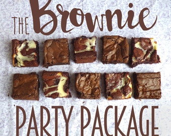 36 Brownies - The Party Package