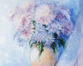 Fine Art Oil Painting Print - Flowers - MADE TO ORDER - Art print Home Decor, 0003