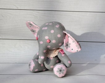 plush  elephant, elephant rag,toy elephant,Elephant doll
