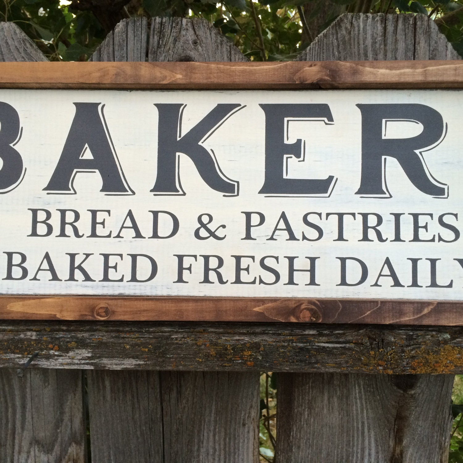 Bakery Farmhouse Wood Sign Country Rustic By CraftingWithMama
