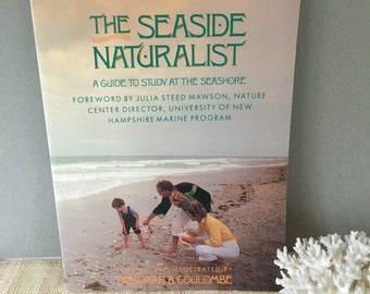 Vintage coastal book | The Seaside Naturalist | vintsge homeschool book | beach study book | homeschool marine biology book