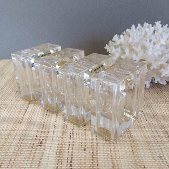 Vintage Lucite Rings 80