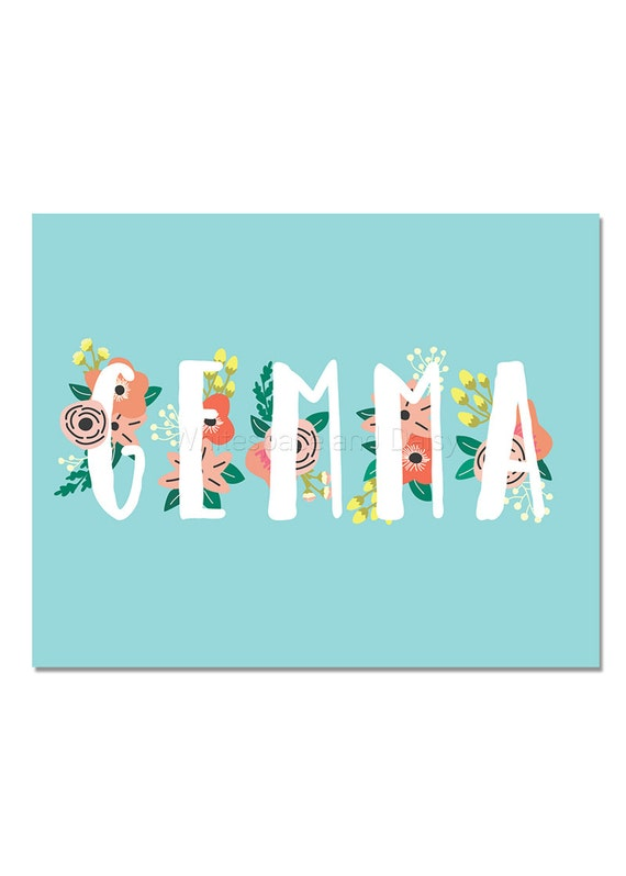 Gemma personalized name sign personalized name baby gift gemma personalized name sign personalized name baby gift custom name art printable name sign printable art printable wall art negle Gallery
