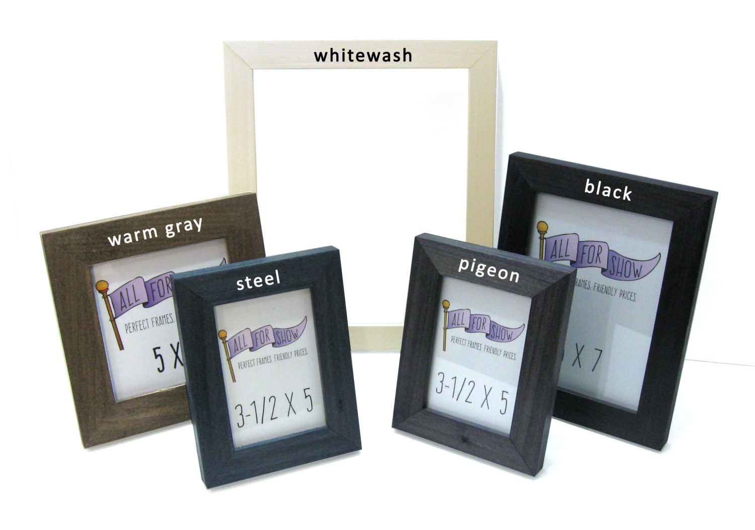 8x10 Frame, Custom Frame, 8x10 Picture Frame, Choose-A-Color, Custom ...