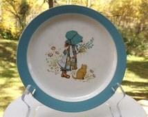 Vintage Holly Hobbie plate - small