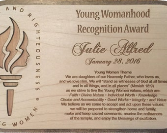 Young Womanhood Recognition Awards