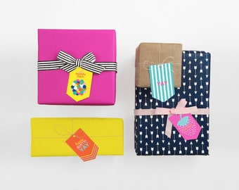 Gift Tag set of 8