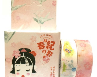 Washi Tape 3mx2pcs Japanese Lady SM342022