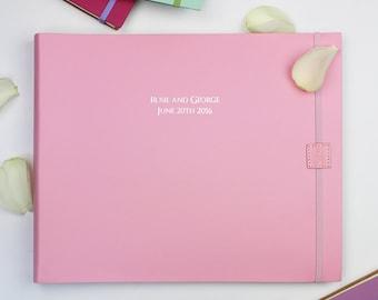 Personalised Leather Wedding Photo Book/album -Large