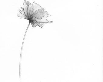 Watercolor Flower Printable