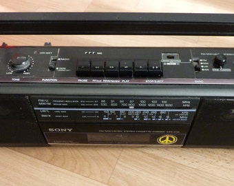 Sony Radio Cassette Tape Player