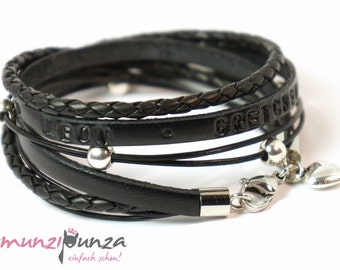Leather Bracelet name article 179