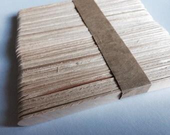 Ice sticks wooden skewer 50 x (A 1069)
