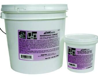 Jennifer's Mosaic Cement-2 lb-White Grout-Mosaic Cement-Mosaic Supplies-Mosaic Grout-