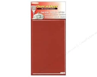 Over n Over Stencil Blank-Glass Etching supplies-Glass Etching-Stencil Blanks-Stencil supplies-Reusable Stencils