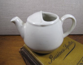 Hall White Teapot #82