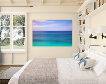Tropics ~ Bermuda Abstract, Ocean, Canvas, Sunset, Tropical, Caribbean, Fine Art Photography, Wall Art, Coastal Home Decor, No Frame Needed