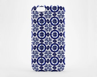 Morocco iPhone Case iPhone 7 Cover iPhone 7 Plus Case Tile iPhone 6 Blue Marble iPhone 6 Plus Case LG G3 G4 Marble Galaxy Case HTC One M7 M8