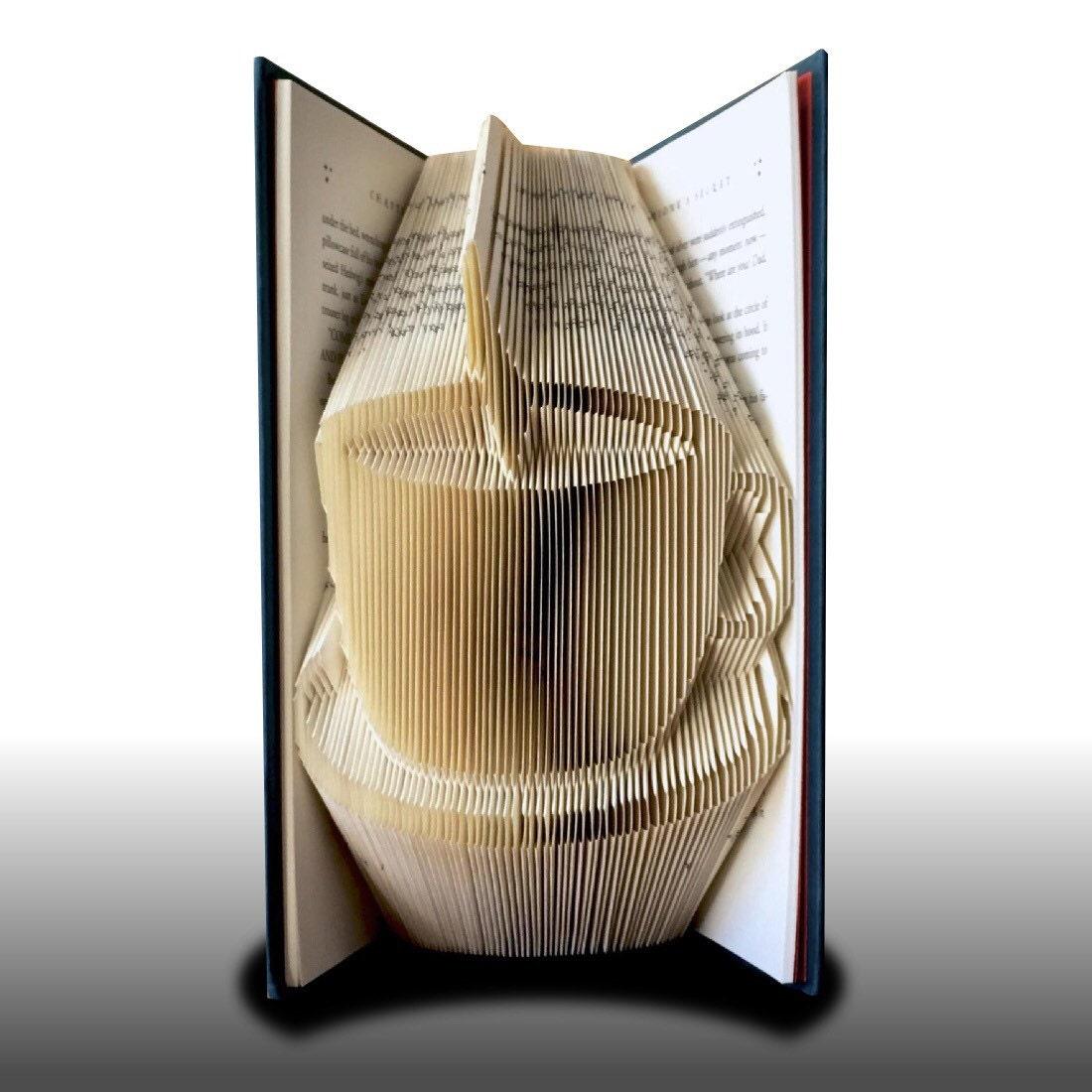 Book Folding Coffee Cup Pattern By OruFun On Etsy