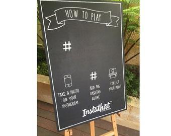 Custom Business Chalkboard / Wooden Sign