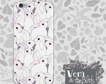 Bunnies iPhone case - iPhone 6 case, iPhone 5 case, iPhone 4 case, iPhone cover, design cases, illustrated cases, iPhone 6 plus, rabbit
