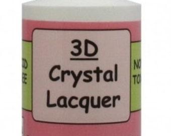 Sakura Hobby Craft - 3D Crystal Lacquer - 4oz Bottle