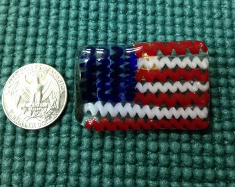 American Flag pin/scatter pin