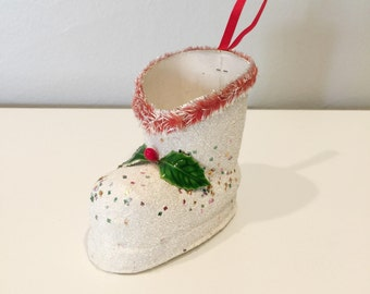 cute vintage Christmas boot