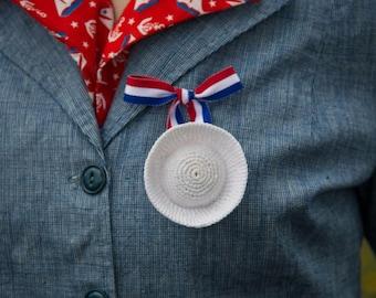 Gob's Hat lapel pin