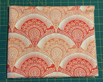 1 Fat Quarter Tula Pink PRINCE CHARMING Snail Scallop in Coral #TP11