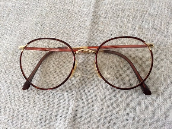 vintage wire frame glasses oversized round reproduction wire frame glasses elite villager 1080s eyeglasses