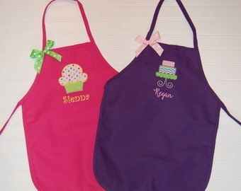 Personalized Apron - Girl's Apron