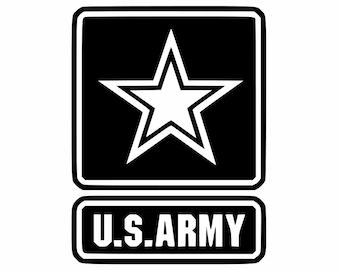 Proud Army Dad Military Army Star Decal Proudly Display On - Military window decals for cars