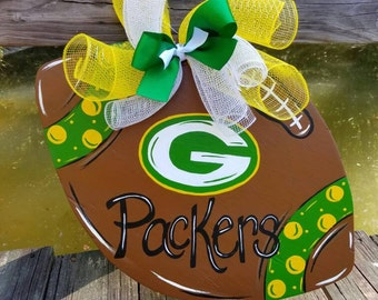 Football door hanger, customize football door hanger