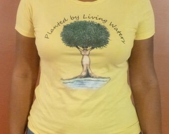 Planted by Living Waters Natural Hair T-Shirt, Natural Hair, Women's T-Shirt